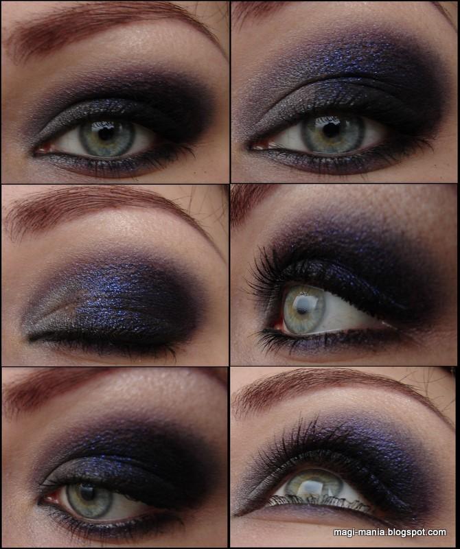 BARRY M. Fine Glitter Dust Augen Makeup Look