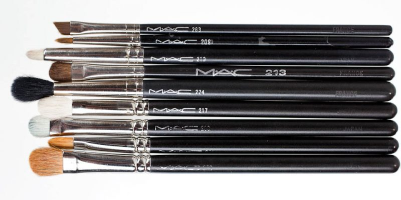 MAC Brushes: meine Pinsel Sammlung Eyes