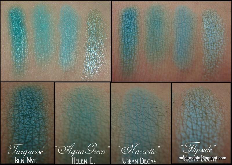 Turquoise-Aqua-Eyeshadows-Urban-Decay-Ben-Nye-Helen-E