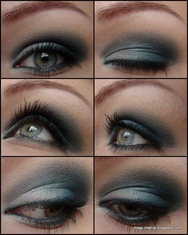 MAC Turquoise Eye Makeup
