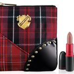 MAC A Tartan Tale - Viva Glam Tis Noble to Give Lip Bag