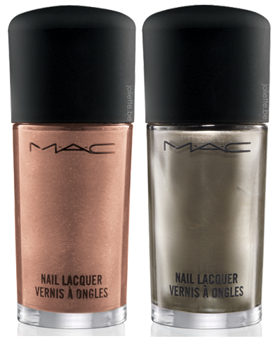 MAC Cham Pale'Soiree' -'Very Important Platinum' Nail Lacquer