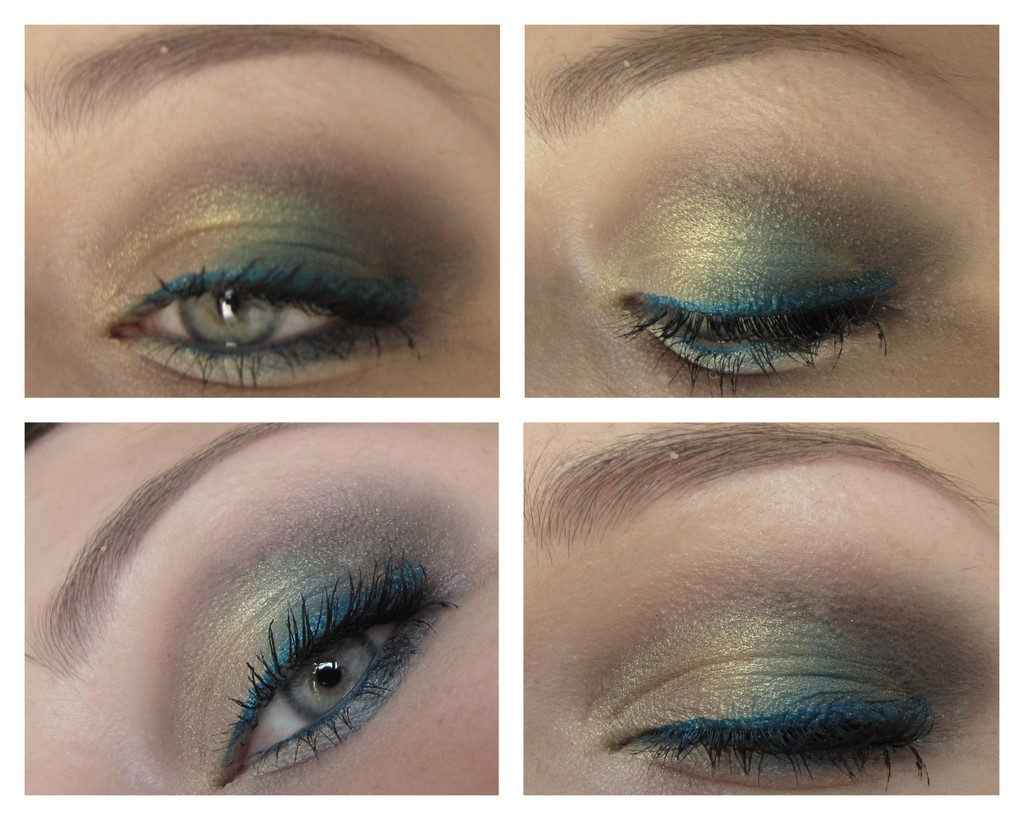Bee Luscious Garden Girl Palette Look 3 - Close Up