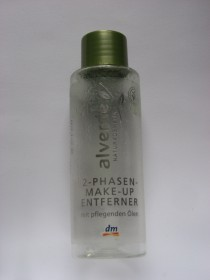 Platz 4: alverde: 2-Phasen-Make-up Entferner