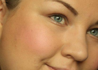 DIOR Rosy Glow Healthy Glow Awakening Blush: after