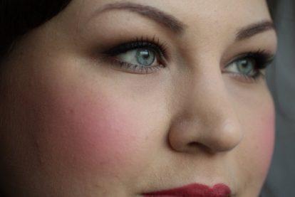 DIOR Rosy Glow Healthy Glow Awakening Blush: after (Daylight)