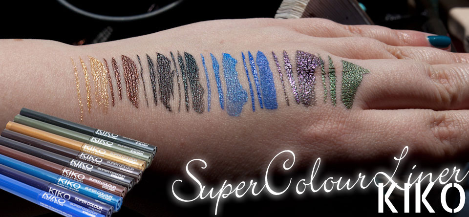 KIKO Super Colour Eyeliner Liquid Liner bunte Liquid Liner Deutschland kaufen