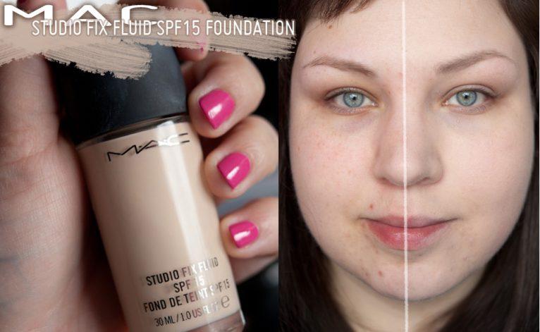 MAC Studio Fix Fluid Foundation NW10 Review deutsch Demo