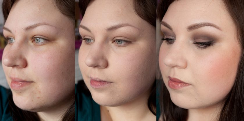 MAC Studio Fix Fluid Foundation NW10 Review: vorher nachher before after