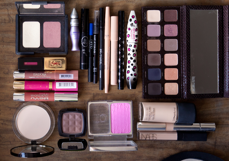 Reiseetui Beauty unterwegs Schminke Makep Catrice Mac Nars