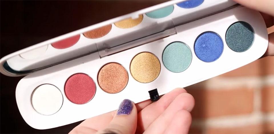 MARC JACOBS The Siren Style Eye-Con Plush Eyeshadow Palette Review