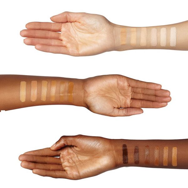 Cover FX Total Cover Cream Foundation Swatches