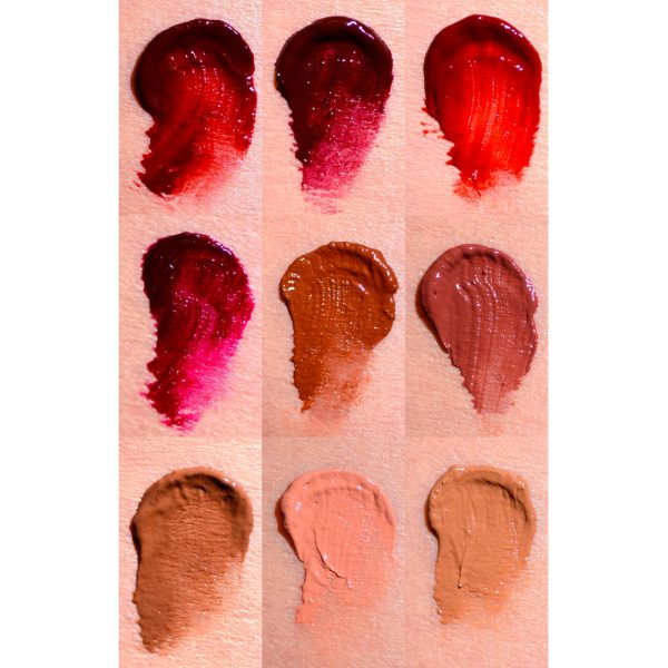 ELLIS FAAS Creamy Lips Liquid Lipstick Swatches