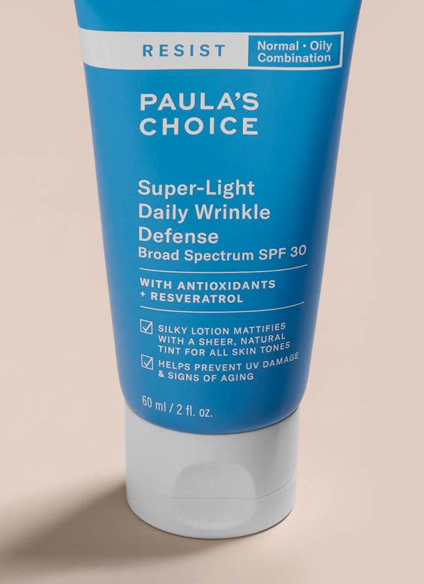 PAULA'S CHOICE Resist Super-Light Daily Wrinkle Defense SPF 30