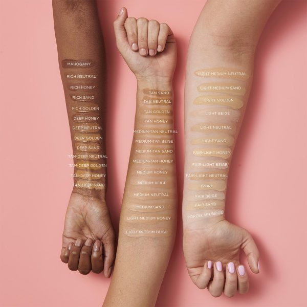 TARTE Amazonian Clay 12-Hour Full Coverage Foundation Swatches