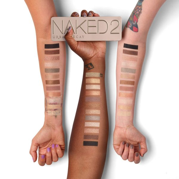 URBAN DECAY Naked 2 Palette Eyeshadow Swatches