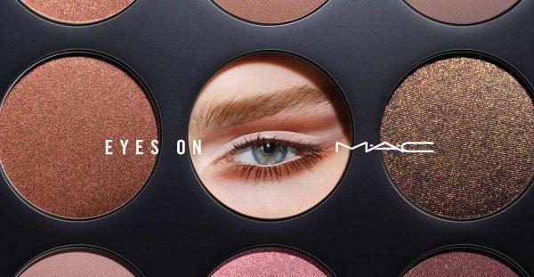 EYES ON MAC Eye Shadow Palette Collection Sortiment Deutschland