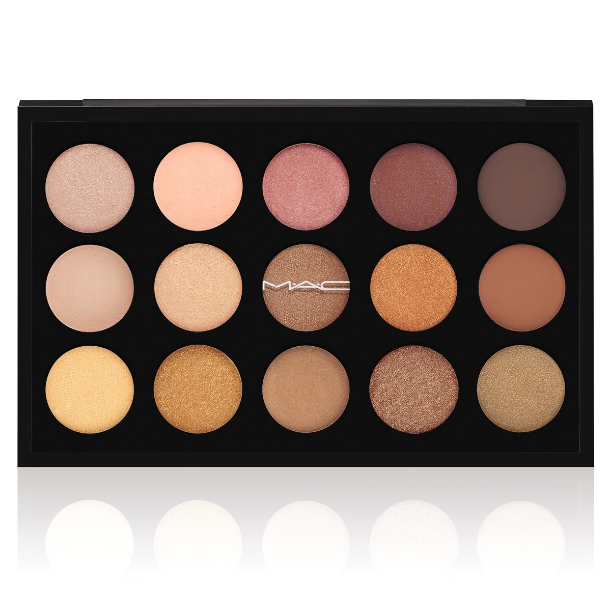 EYES ON MAC Warm Neutral 15 Eyeshadow Palette