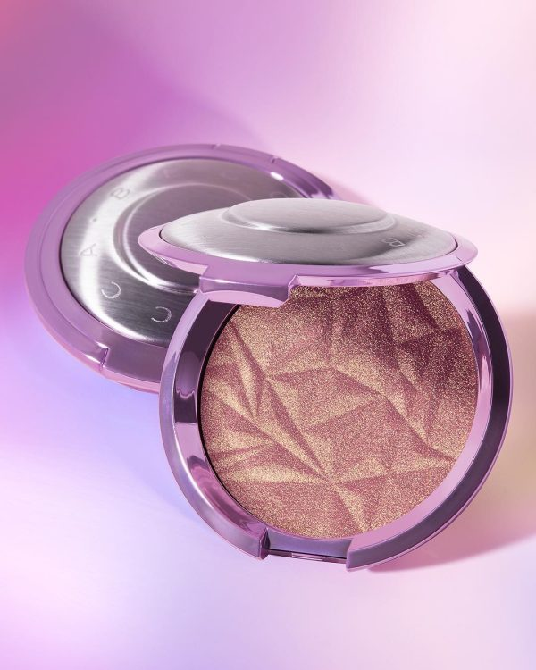 BECCA Lilac Geode Glow Shimmering Skin Perfector Pressed