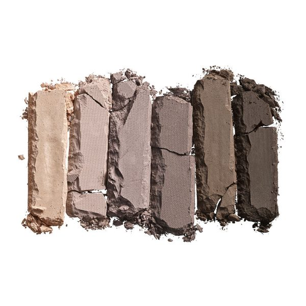 URBAN DECAY NAKED2 BASICS Eyeshadow Palette Swatch