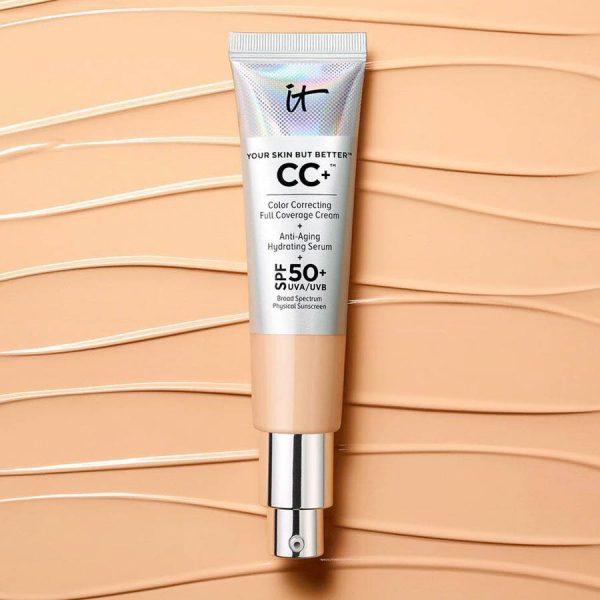 IT COSMETICS Your Skin But Better CC Cream Ambient SPF 50 Foundation Makeup
