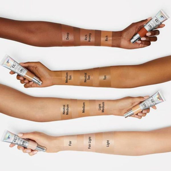 IT COSMETICS Your Skin But Better CC Cream Swatches SPF 50 Foundation Makeup