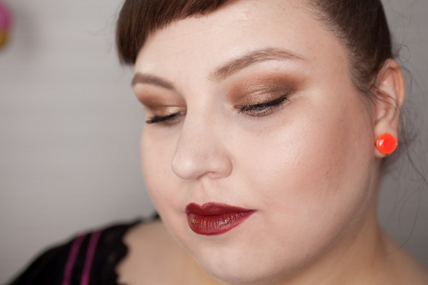 NARS Fall Look inspired Makeup-2