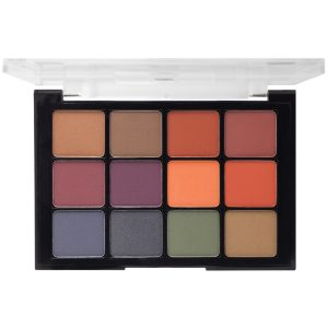 VISEART Eyeshadow Palette Dark Mattes