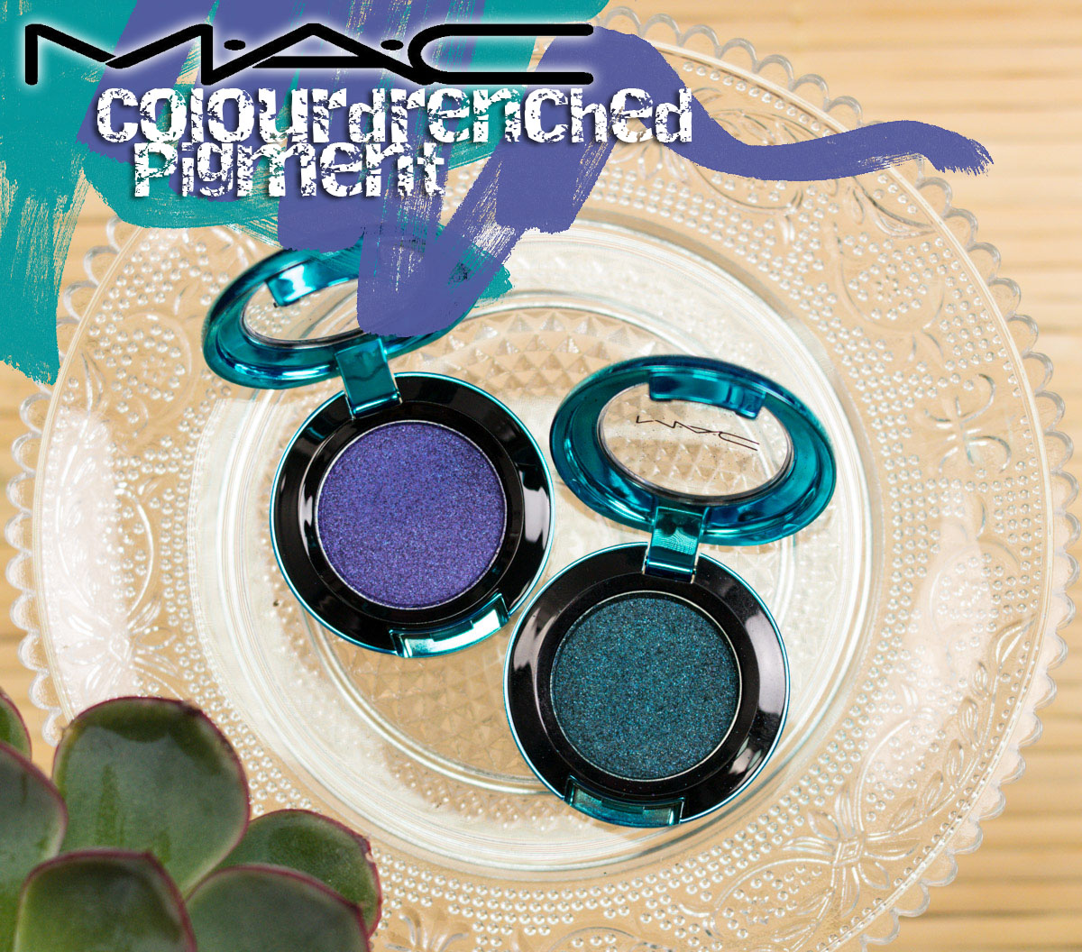 MAC Colourdrenched Pigment Eyeshadow Review Teaser