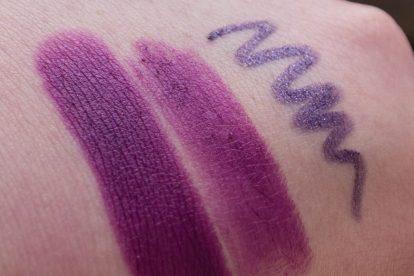 LIME CRIME Poisonberry Lipstick Lila Lippen-5