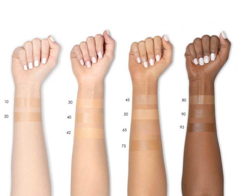 NATASHA DENONA Face Glow Foundation Swatches Vergleich