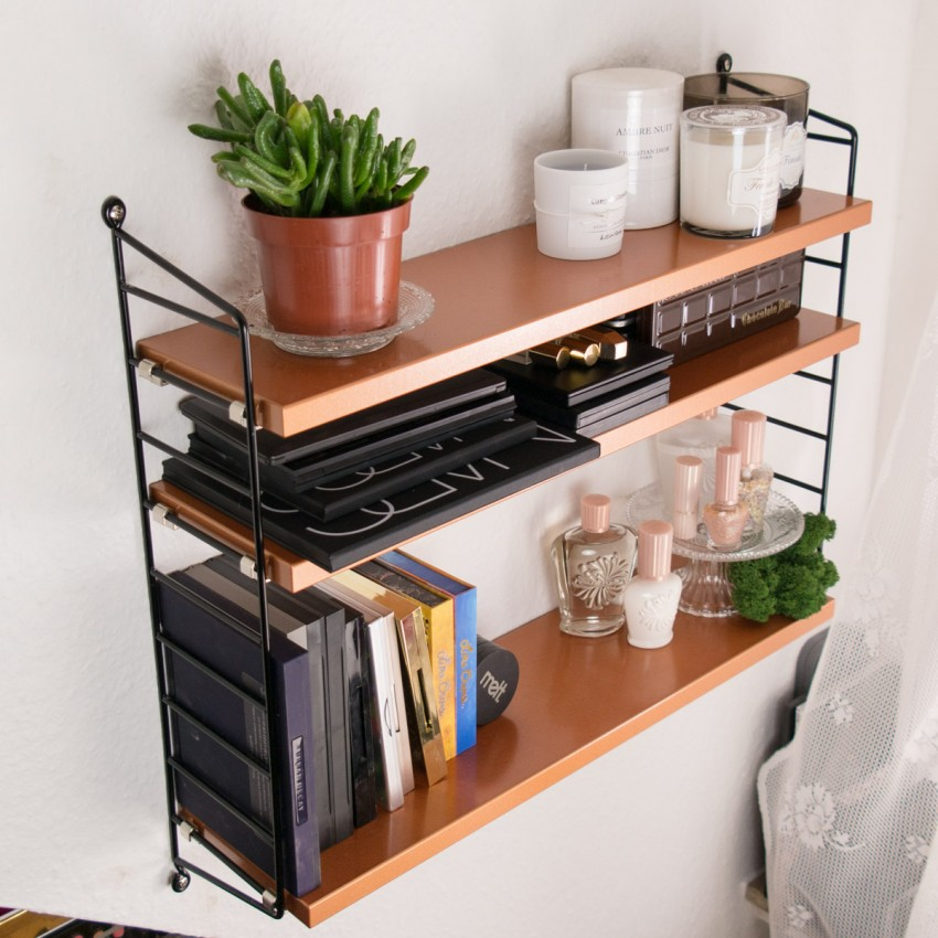 STRING Pocket Kupfer Copper Shelf-2