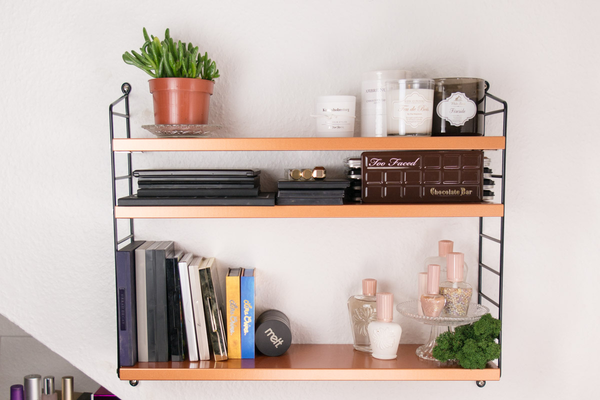 STRING Pocket Kupfer Copper Shelf