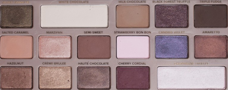 TOO FACED Chocolate Bar Palette Eyeshadow Naked Nude Lidschatten Colors Flash