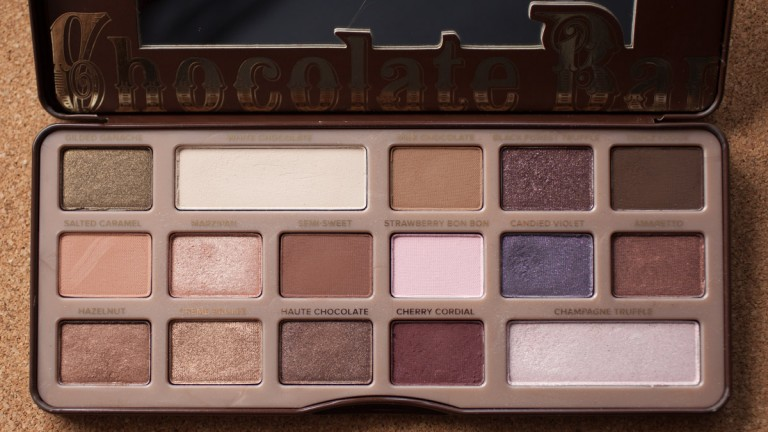 TOO FACED Chocolate Bar Palette Eyeshadow Naked Nude Lidschatten Daylight