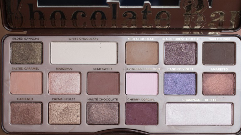 TOO FACED Chocolate Bar Palette Eyeshadow Naked Nude Lidschatten Flash