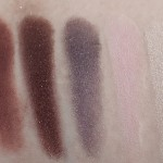 TOO FACED Chocolate Bar Palette Eyeshadow Naked Nude Lidschatten Purples Swatch