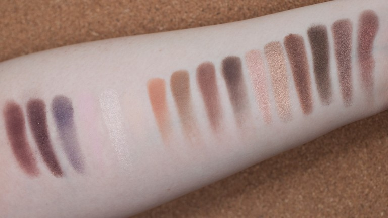 TOO FACED Chocolate Bar Palette Eyeshadow Naked Nude Lidschatten Swatches