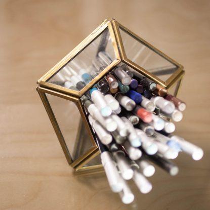 dekorative Beauty Aufbewahrung Urban Outfitters Terrarium HM Home Glas Metall 4