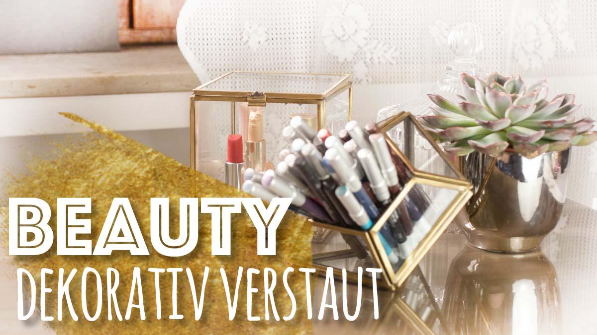 dekorative Beauty Aufbewahrung Urban Outfitters Terrarium HM Home Glas Metall Teaser