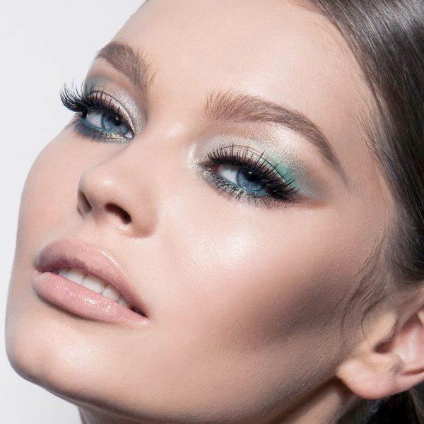 NATASHA DENONA Eyeshadow Palette 28 Green Brown Lidschattenpalette Look