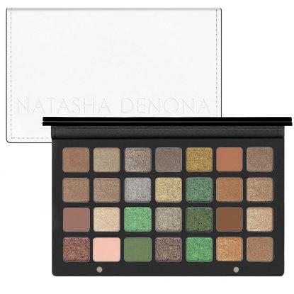 NATASHA DENONA Eyeshadow Palette 28 Green Brown Lidschattenpalette kaufen Deutschland billiger Rabattcode Preisvergleich Gutschein Code