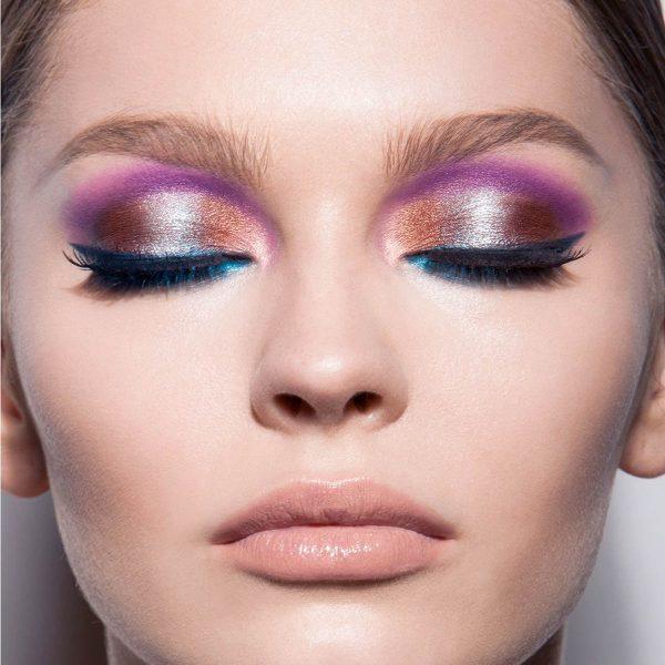 NATASHA DENONA Eyeshadow Palette 28 Purple Blue Lidschattenpalette Look