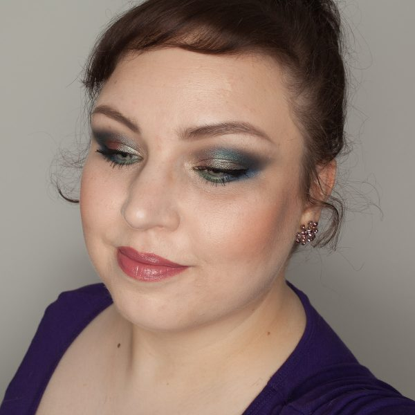 NATASHA DENONA Eyeshadow Palette 5 Makeup Look Calypso Blue Tropic Duochrome Green
