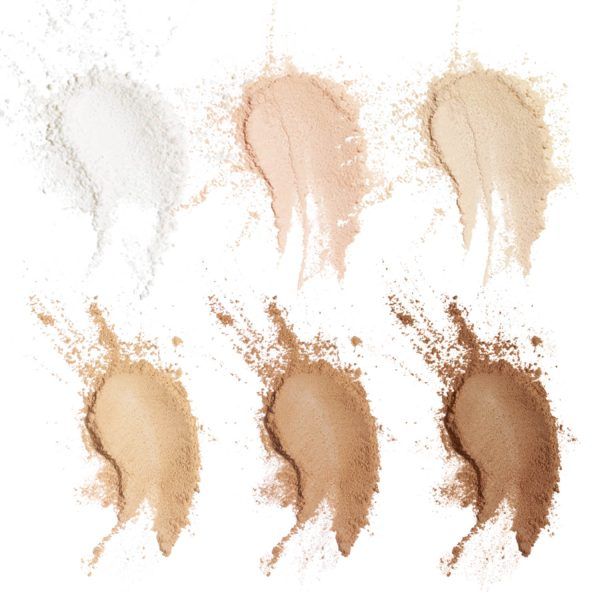 CHANEL Poudre Universelle Libre Powder Swatches Shades Colors Farben Nuancen