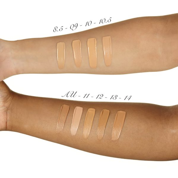 ILLAMASQUA Skin Base Foundation Makeup Swatches medium