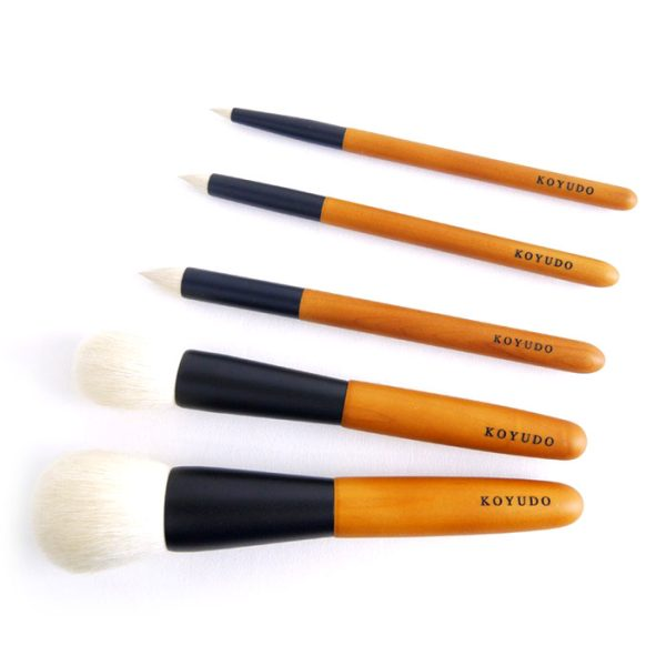 KOYUDO Saikoho Small Eyeshadow Brush Collection