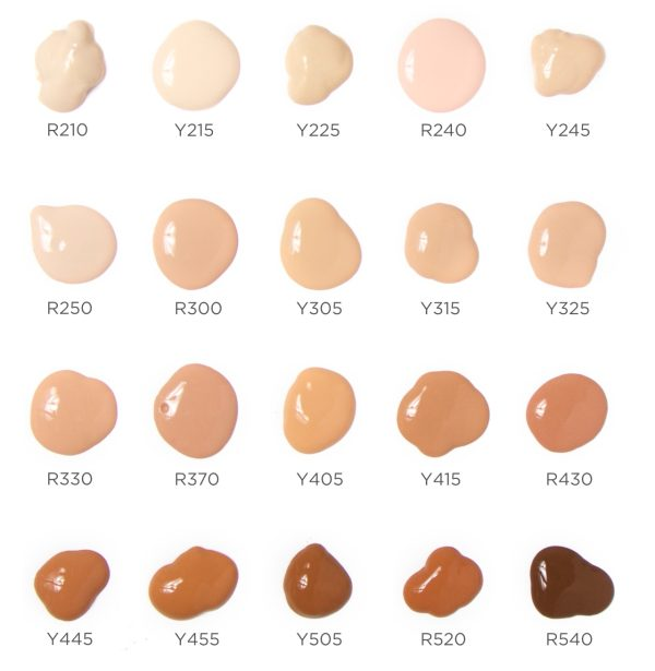 MAKE UP FOR EVER Water Blend Foundation Face & Body Swatches
