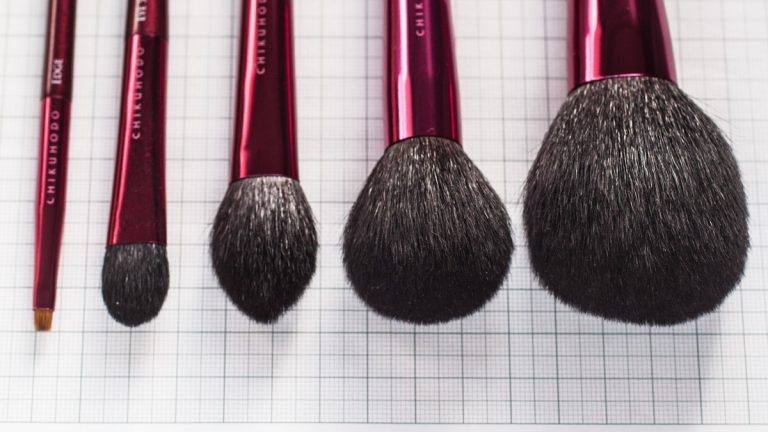CHIKUHODO Passion Brush Collection Bristle Length