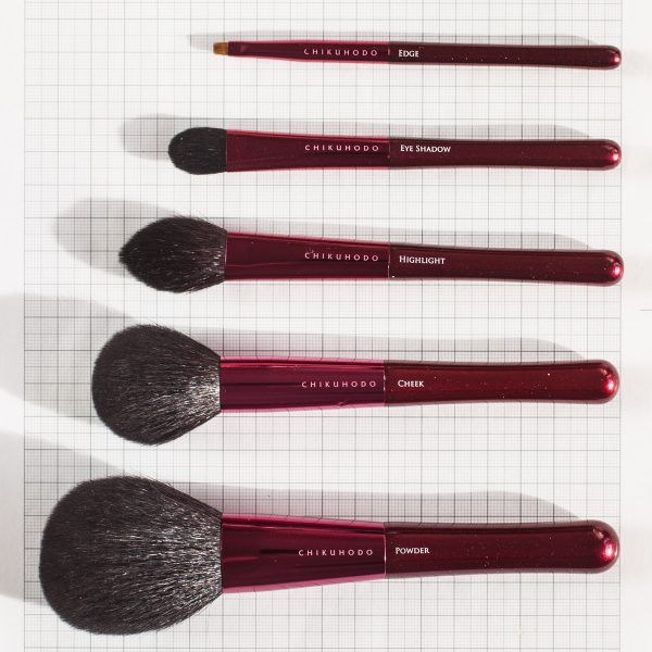 CHIKUHODO Passion Brush Collectionauf Millimeterpapier
